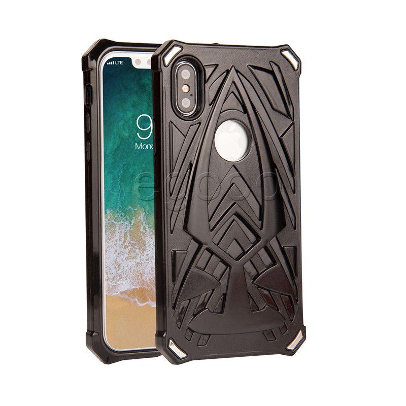 Hybrid Armor Case TPU + PC Stoßfest Robuste Schutzhüllen Für iPhone X Xs Max xr 8 7 6 6 S Plus 5 Sumsung S8 S7 Plus Note8 J7 Prime Huawei OEM
