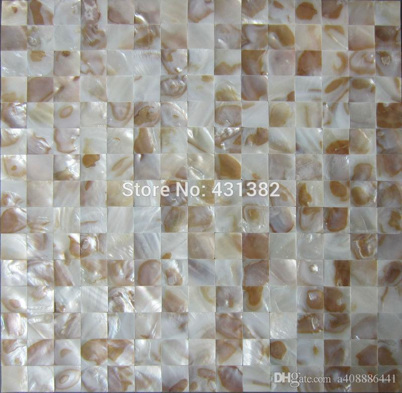 Decorative Mother Of Pearl Tile Backsplash Tiles , Cheap Shell Mosaic Wall  Tiles Natural Color Single Chip Size 20mm From A408886441, $129.65 |  DHgate.Com