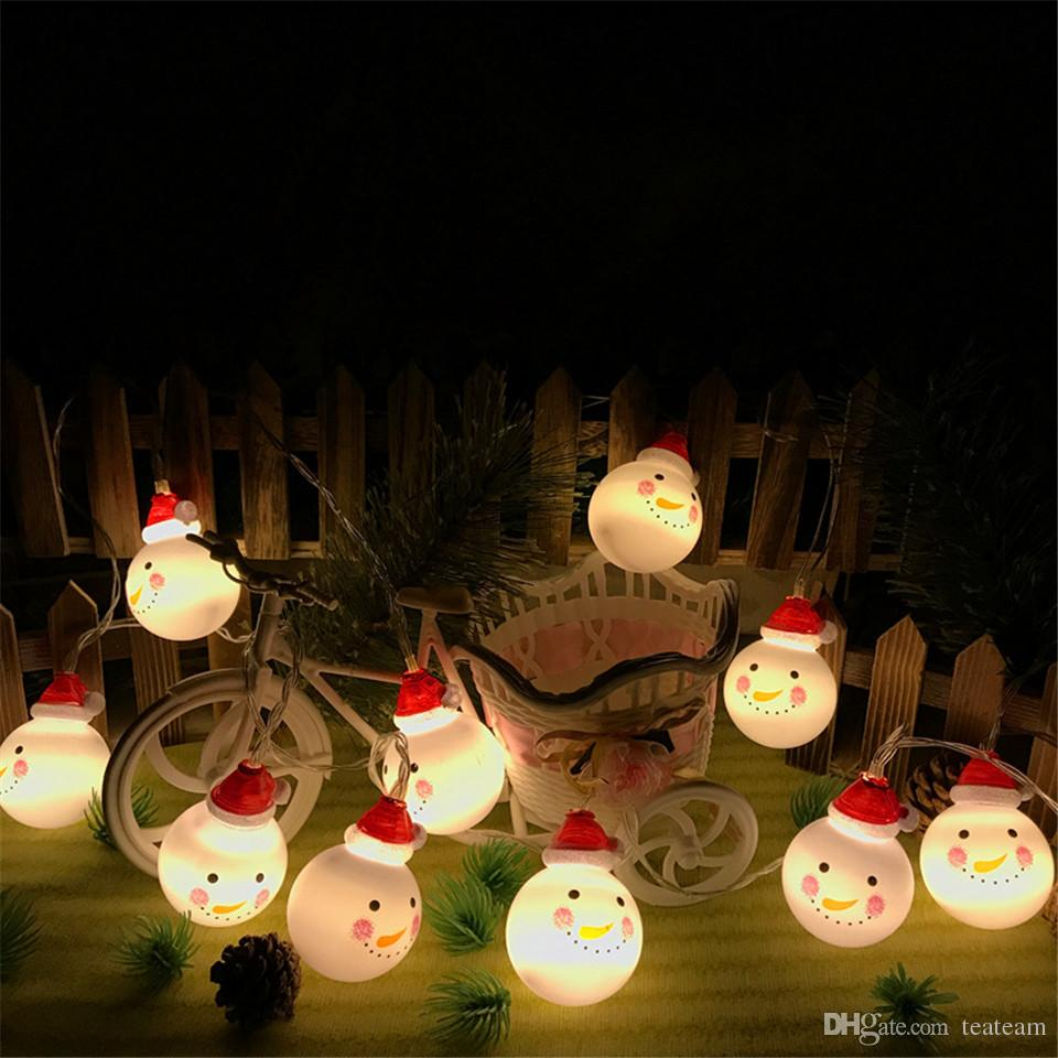 Snowmen christmas lights outdoor battery type decoration lighting snowmen christmas lights outdoor battery type decoration lighting backyard garden decor ornaments holiday lighting 20 led 5m long solar led easter string mozeypictures Image collections