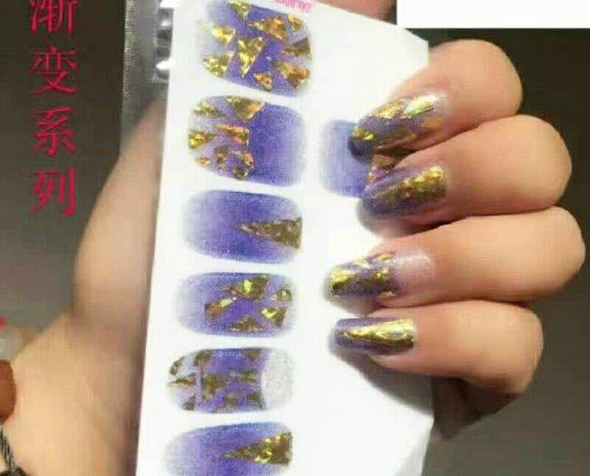 Wholesale Fashion Nail Sticker Water Transfer Patterns Japanese Nail ...