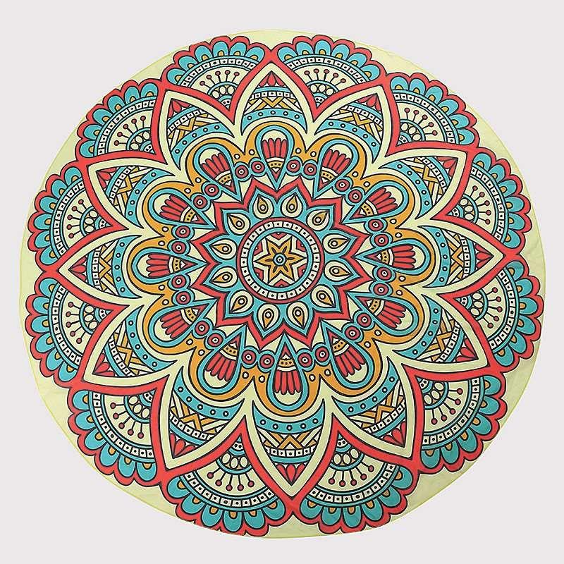 Renkli Mandala Ornekleri Sekilli Mandala Ornekleri
