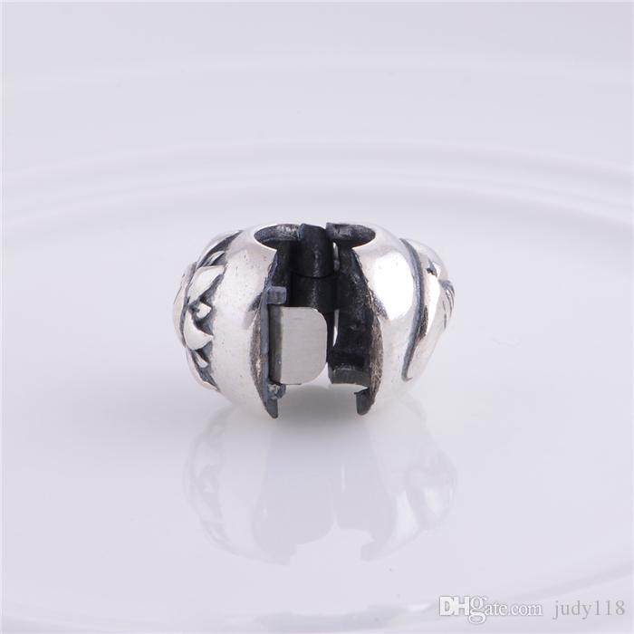 Memnon Jewery Magic Sky Clip beads Fit European Style Bracelets DIY Making 925 Sterling Silver Accessories wholesale KT077-N