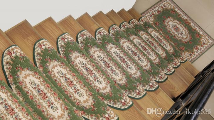 Nouvelle mode de style européen tapis antidérapant 100% polyester style salle à manger, couloir, salon, foyer, escalier / livraison gratuite