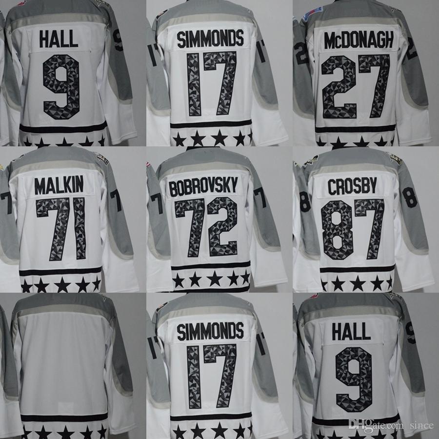 3c015c4dd Factory Outlet Men s  71 Malkin  87 Crosby  72 Bobrovsky  17 ...
