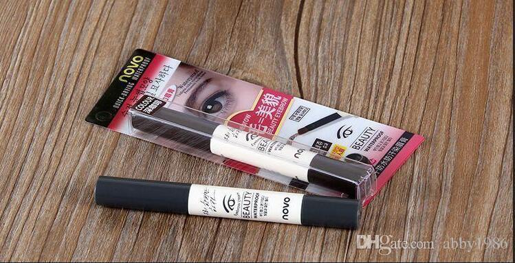 Professional Brand novo Eyebrow Cream Mascara Gel Make Up Waterproof Eye Brow Pro Beauty Cosmetics Pen Enhancer With Brush SH-P01