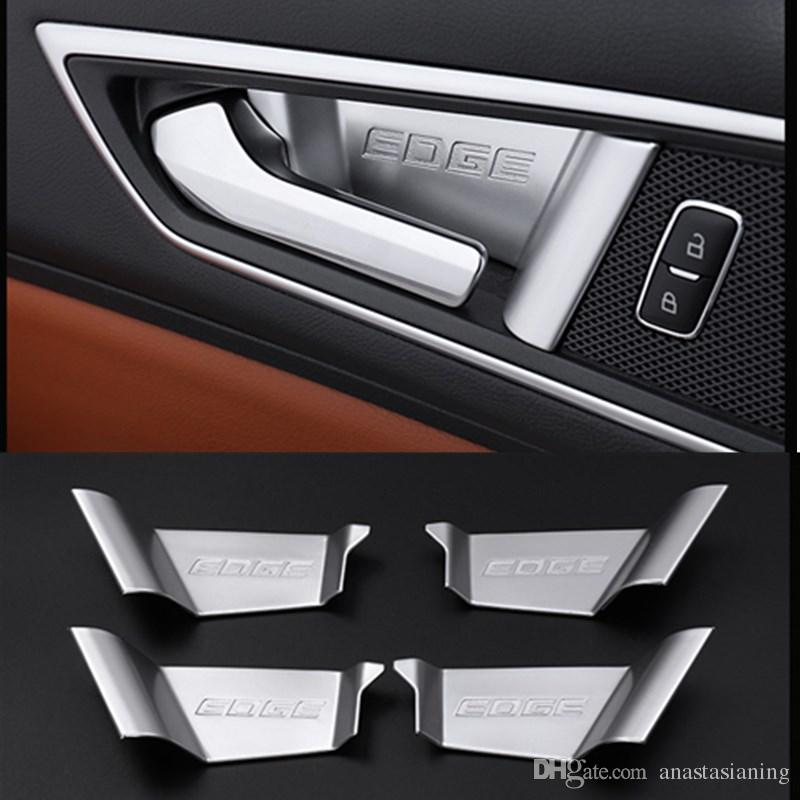 Car Abs Interior Door Handle Covers Accessories For Ford Edge  From Anastasianing   Dhgate Com