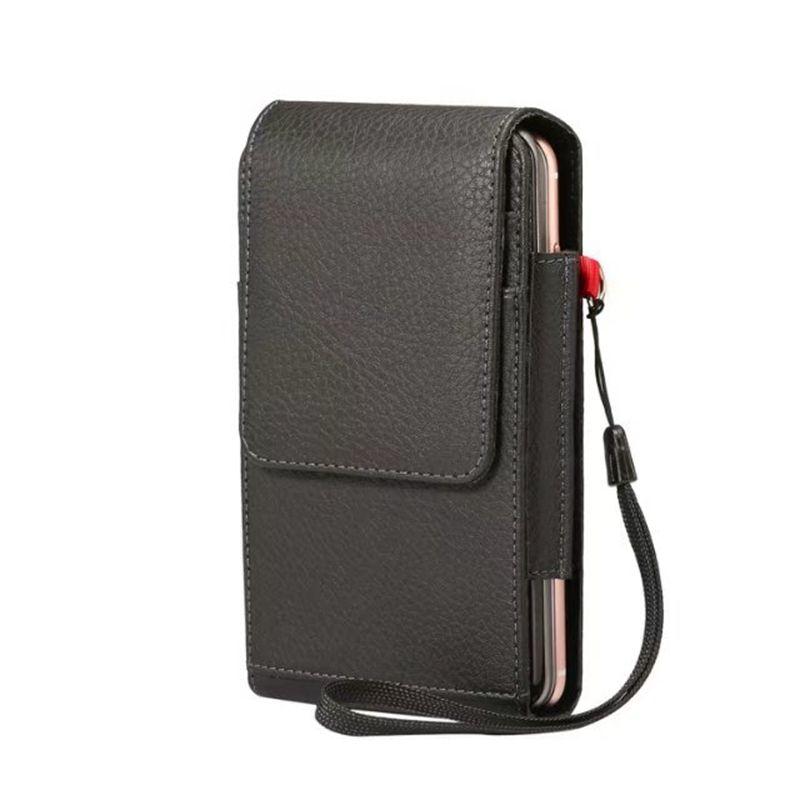 Holster Leather Vertical Hip Case For Iphone 7 6 6S 5S SE Galaxy S8/Plus/S7/Edge/XZ,XA1 Moto G5 Plus Flip Buckle Clip Belt PU Pouch Strap