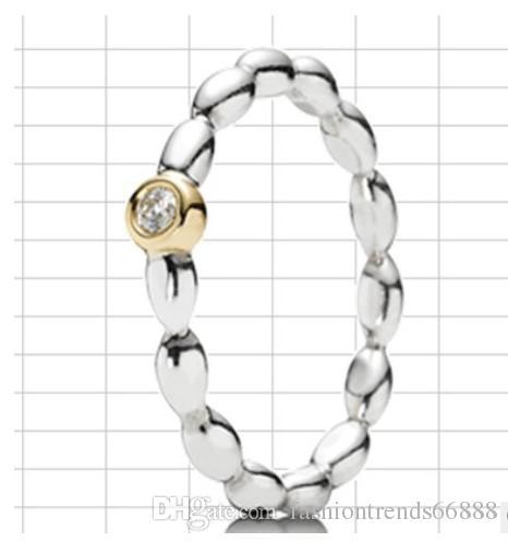 2016 New Fashion Elegant Pandora Ring Silver Engagement Ring Finger