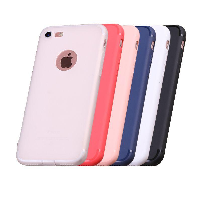 deae42eb7ee Carcasas Personalizadas Para Moviles Súper Suave Transparente TPU Funda  Ultra Delgada De Moda Para Iphone 6 6s Plus Slim Back Protect Skin Fundas  De ...