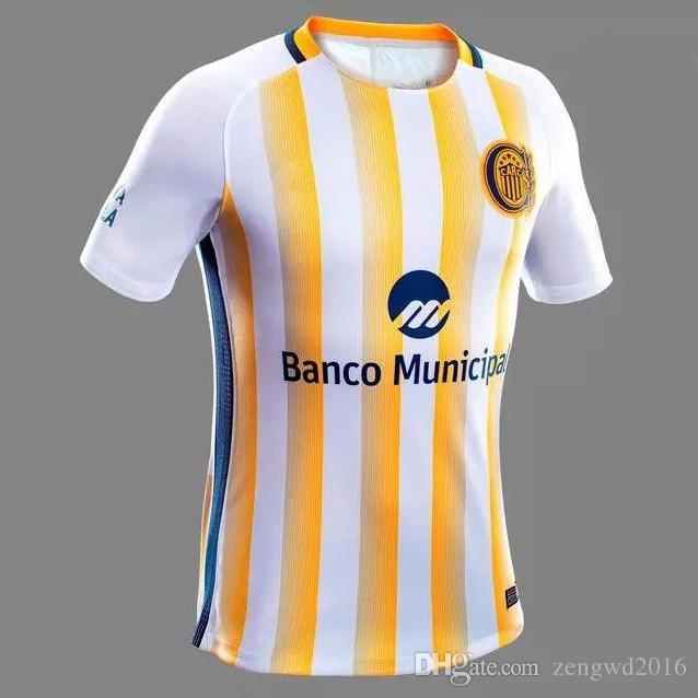 37d782660 2019 Thai Quality 16 17 Rosario Central Jersey 2017 AtlEtico Nacional  Camisetas De Futbol Santos San Lorenzo De Almagro Boca Juniors Shirt From  Zengwd2016