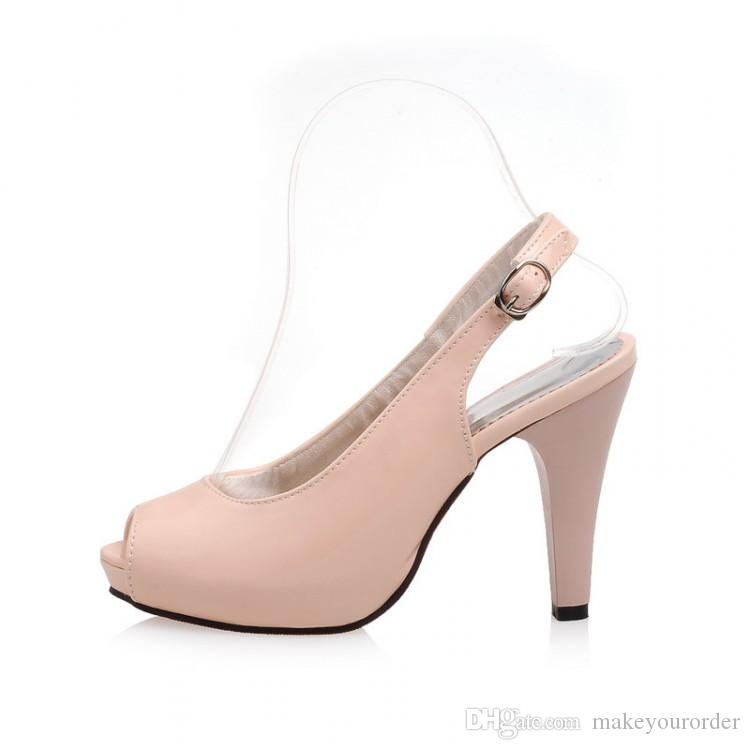 wholesaler factory price hot seller new style peep toes patent leather high heel women dress shoe 190