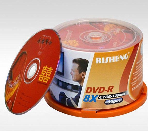 2018 Risheng Wedding DVD R 47GB 8X Burn Dish Blank Copy CD Disc From Jiayou2009 2413