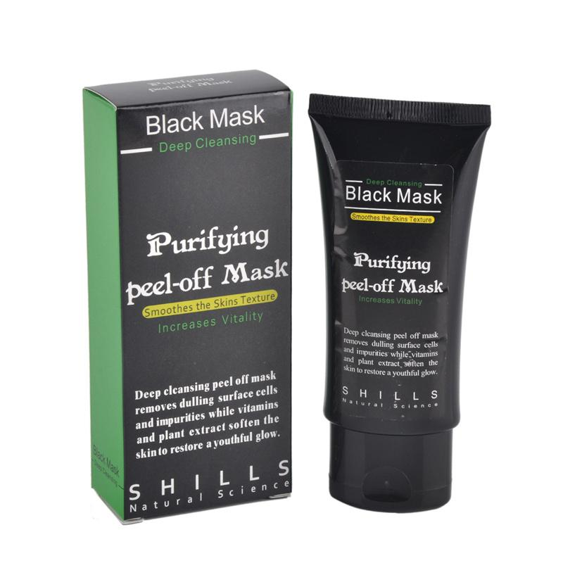 Shills Peel-off face Maschere Deep Cleansing Black MASK Blackhead Maschera facciale Shills Deep Cleansing Nero MASK Matte DIY 50ml COPY ONES 0611031