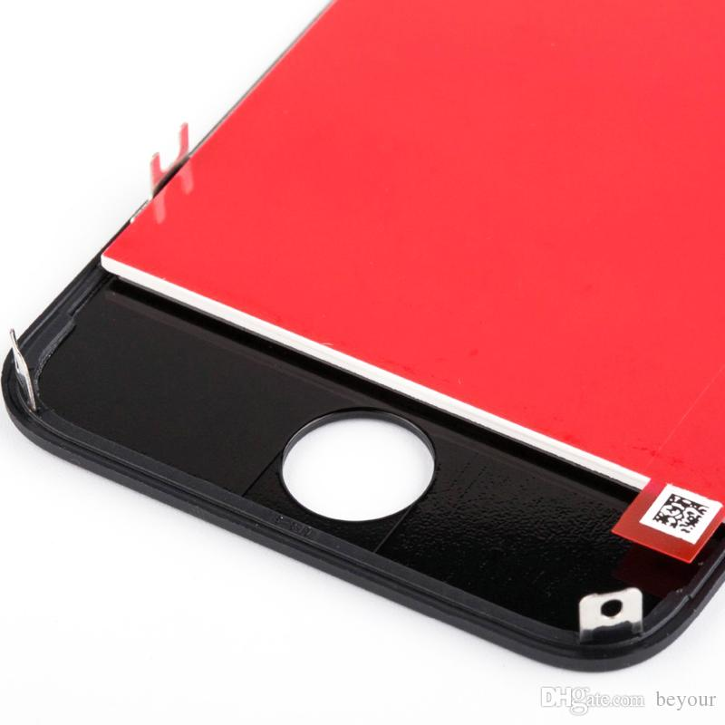 LCD Screen for iPhone 4S Display with Touch Screen Digitizer Assembly Parts Glass Lens No Dead Pixels AAA Grade