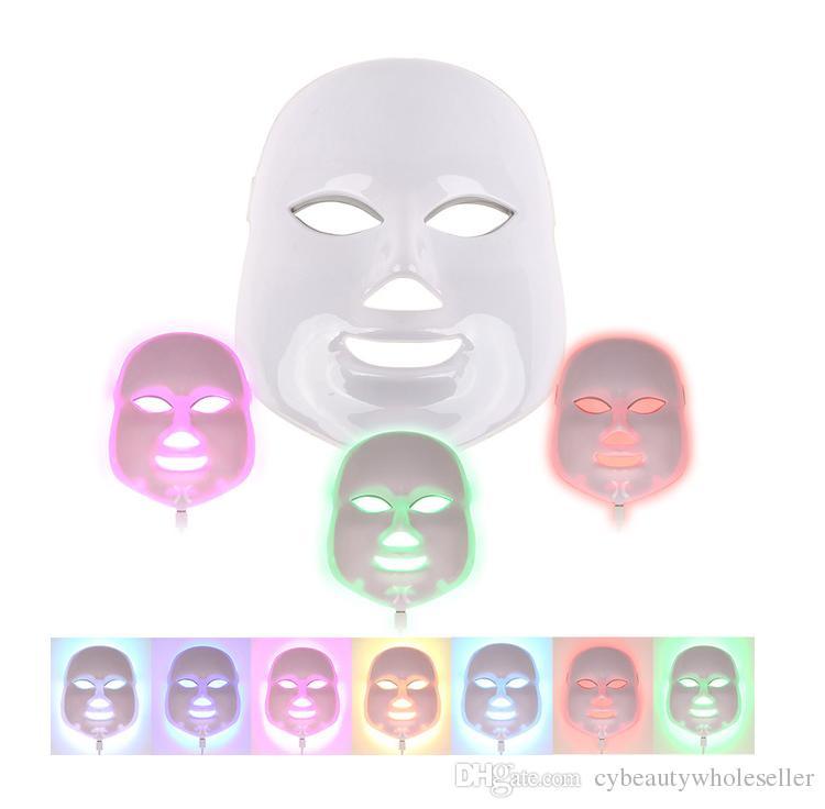 7 водить цветом приборов красотки терапией красного света маски красотки подмолаживания кожи голубых зеленых с оптовой ценой