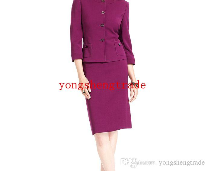 Fashion Women Suit Custom Made Purple Women Suit Perfect For Any Occasion