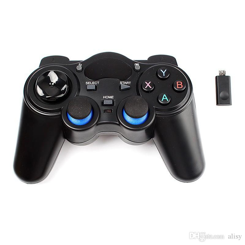 New Gamepad 2.4G Wireless Game Gaming Controller Remote For Android Tablet Smartphones TV BOX from alisy