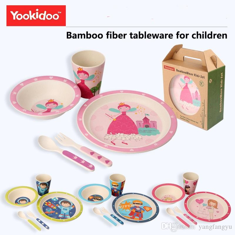 Eco-friendly Bamboo Fider Baby Dinnerware Set Child Tableware Set Perfect for Babies u0026 Toddlers BPA Free Baby Dinnerware Set Child Tabeware Set Bamboo ...  sc 1 st  DHgate.com & Eco-friendly Bamboo Fider Baby Dinnerware Set Child Tableware Set ...