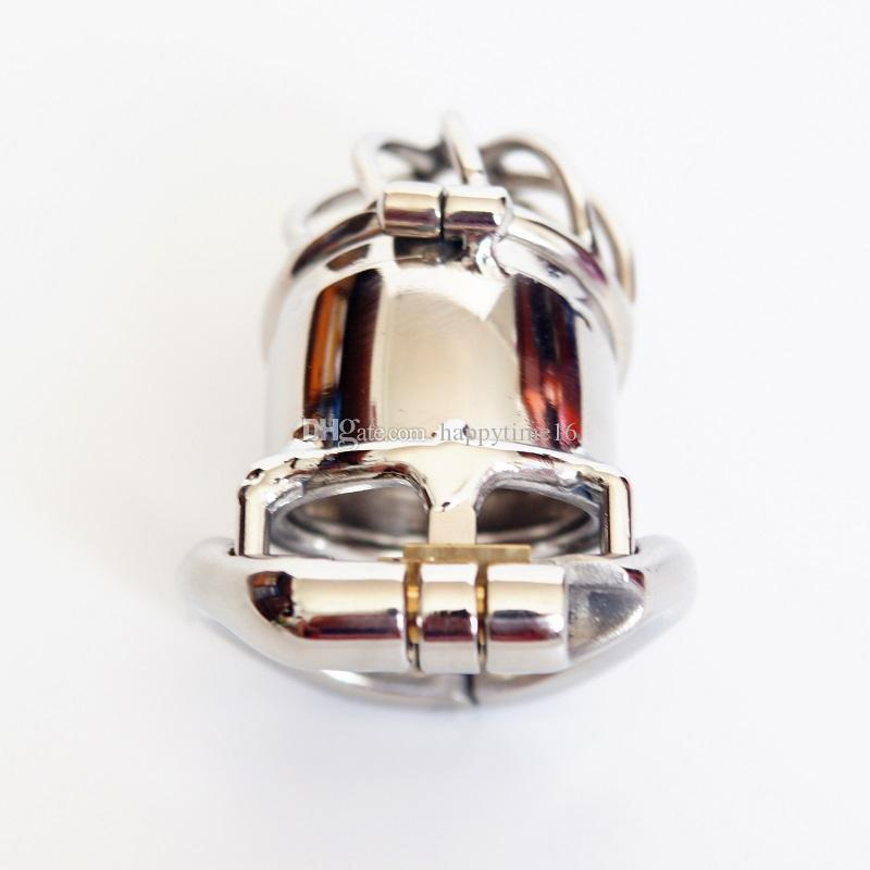 New Lock 65mm Male Chastity Device Cock Cage Chastity Double Lock Sex Toys Men SM Fetish Sex Product
