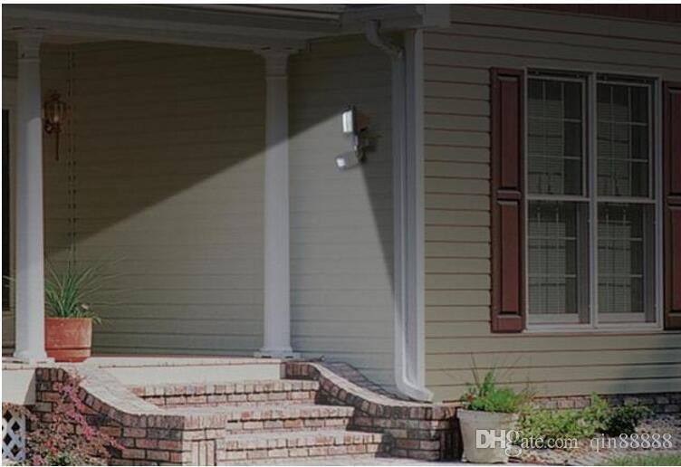 LED 홍수 안전 정원 빛 PIR 운동 측정기 60 LEDs 경로 벽 램프 옥외 비상등