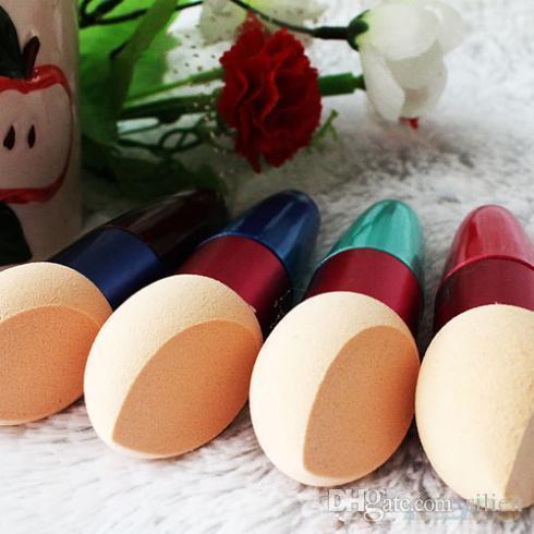 Gros-Femmes Fondation de maquillage cosmétique New Hot Cream liquide Correcteur éponge Lollipop Brush 1QBC 37D9 navire gratuit