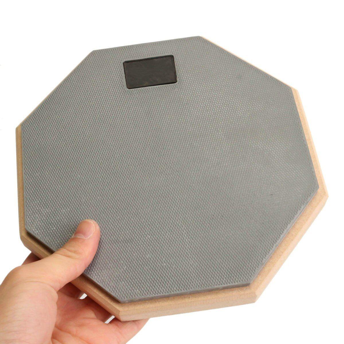online cheap 8 inch rubber wooden dumb drum silent practice drumpad for beginner drumming quiet. Black Bedroom Furniture Sets. Home Design Ideas