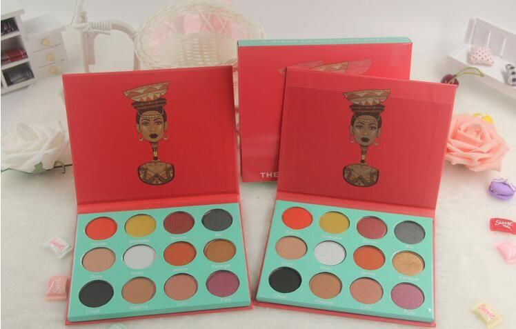 12 цветовая палитра пятно макияж ню макияж смоки-макияж глаз пот не dizzydo длительной модификации тени для век .