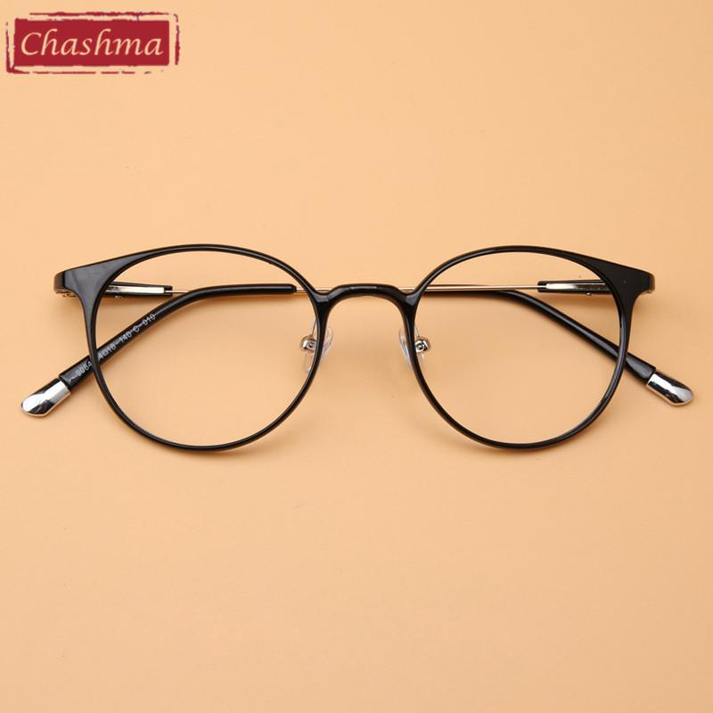 6768aa09dfef 2019 Wholesale Chashma New Fashion Optical Glasses Myopia Frame Adjustable  Nose Pads Ultra Thin Legs Prescription Eyewear Frames From Value222