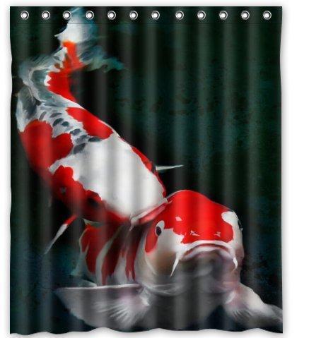 2018 Custom Japanese Koi Fish Shower Curtain 60 X 72 From Littleman913 402