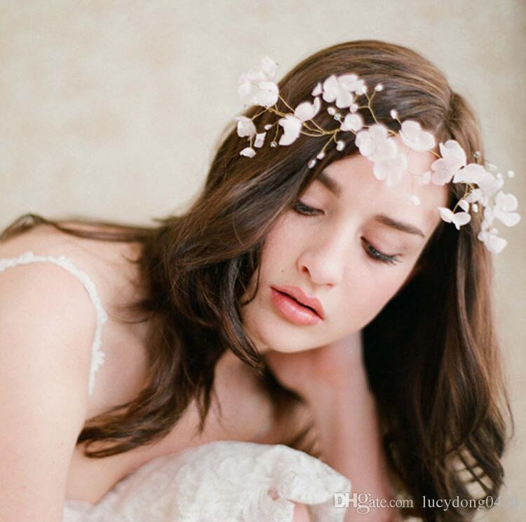 Rhinestone Crystal Wedding Party Prom Homecoming Crowns Band Princess Bridal Tiaras Hair Accessories Fashion LD529