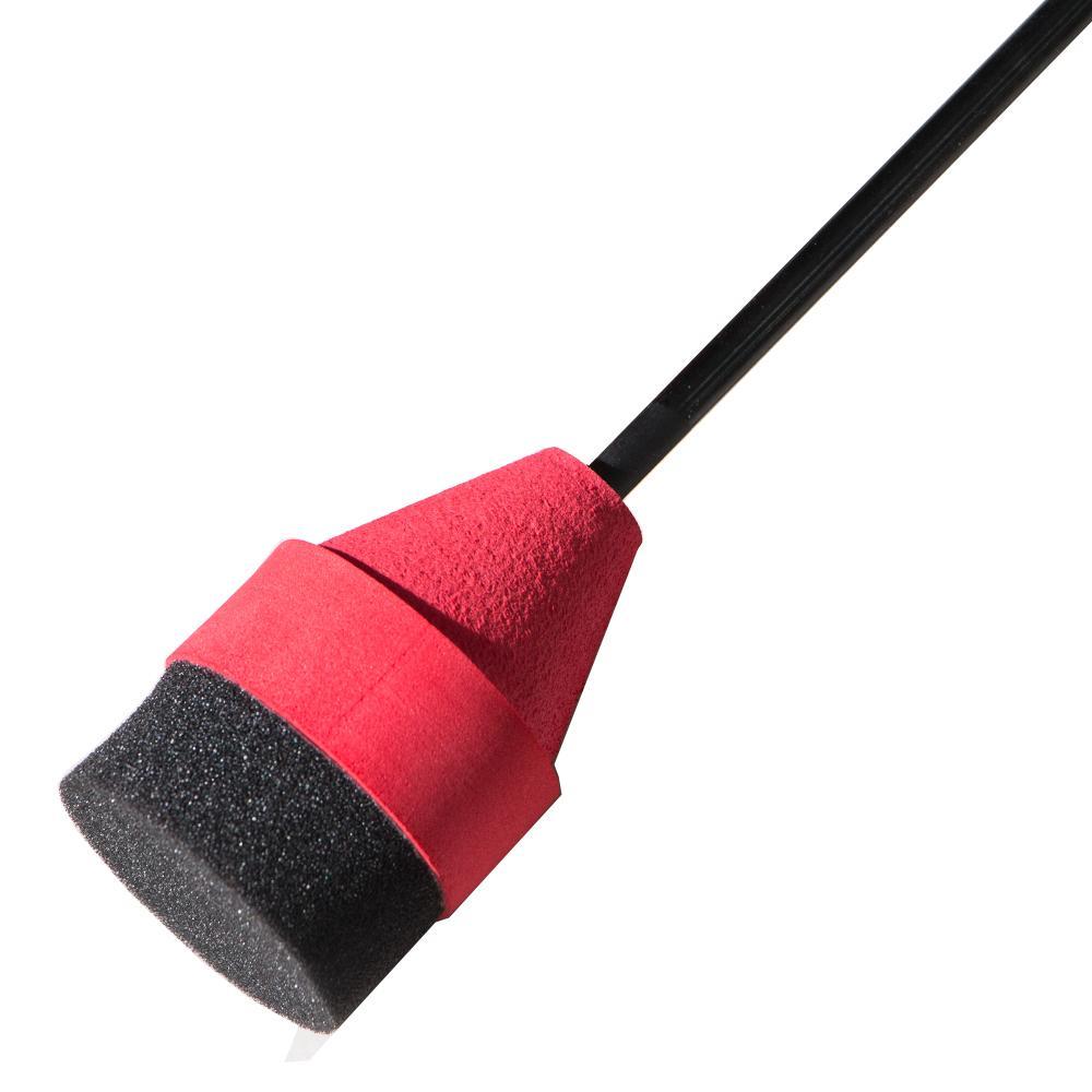 Pratique de chasse en mousse éponge souple noir / rouge