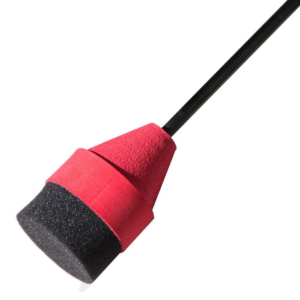 Preto / Vermelho Esponja Macia Foam Caça Flecha Prática Broadhead Dicas Para Archery Sports Club CS Tiro