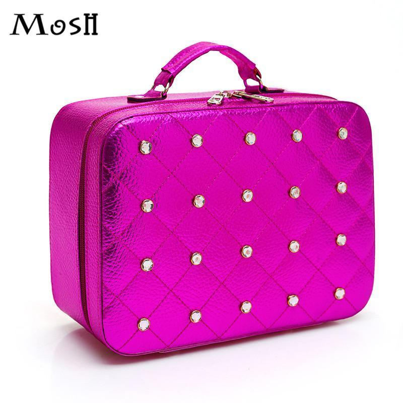 d67e6f64c07 2019 Nice Fashion Women Makeup Case Bag Beauty Box Travel Portable  Professional Make Up Organizer Cosmetic Storage Pouch Case Boxes Bag From  Raleighte, ...