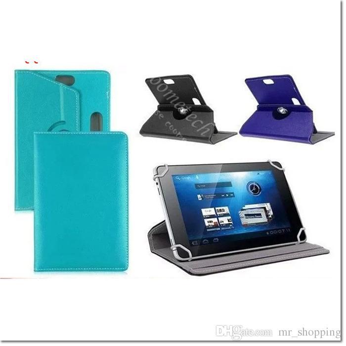 Custodia universale 7 8 9 10 pollici tablet 360 gradi ruotare Custodia in pelle iPad caso Custodia Cover Samsung Galaxy Tab 3 4 iPad Air Tablet PC