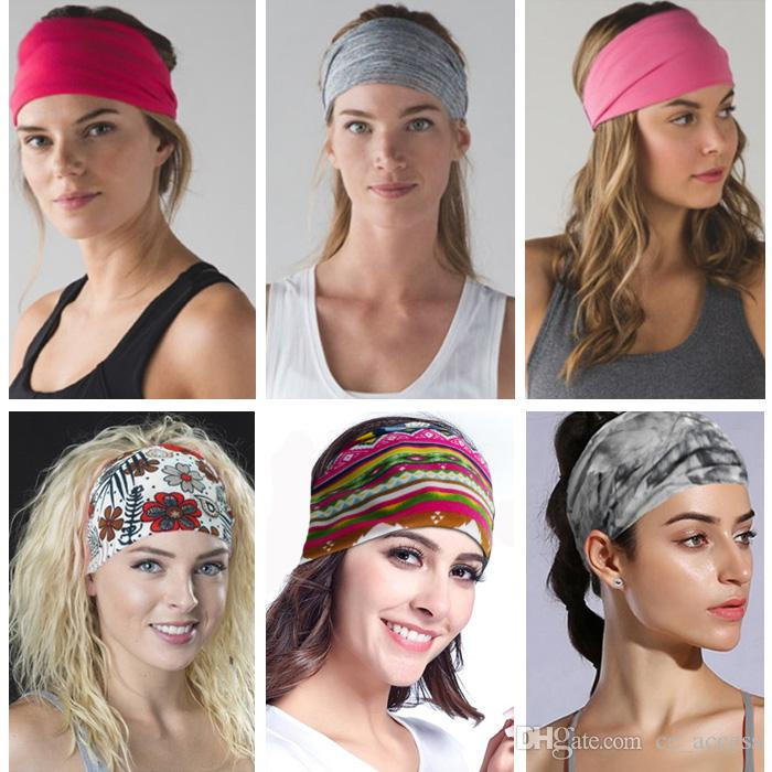 Wide Sports Yoga Gym Stretch Cotton Headband Head Hair Band Girls Women  Kids UK 2019 From Ce access 31022403224