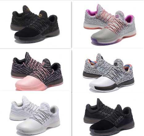 1 Mens Basketball Shoes Black White Wholesale Fashion James Harden Shoes  Sneakers Size 40 46 Jordans Running Shoes From Factorysuppliers, $55.94|  Dhgate.Com
