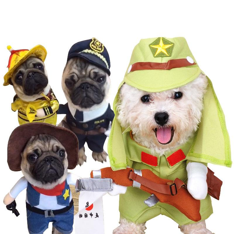 2018 Kimhome Pet Dog Halloween Costume Standing Turned Dog Clothes For Small Dogs Winter Coat For Medium Dogs Cosplay Pet Clothes From Mercedes1991 ...  sc 1 st  DHgate.com & 2018 Kimhome Pet Dog Halloween Costume Standing Turned Dog Clothes ...