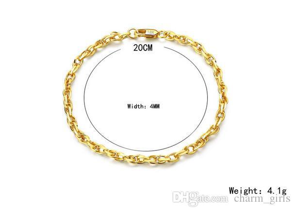 2017 горячая распродажи Марка 18K золотое покрытие яйцо shaped ожерелье мода мужчина женщина 4 мм золотой браслет ожерелье свадебные украшения набор