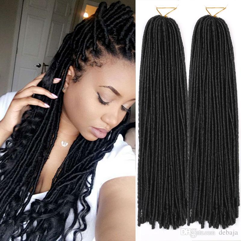 Curly Weaves Synthetic Dreadlocks Braids Hair For Women