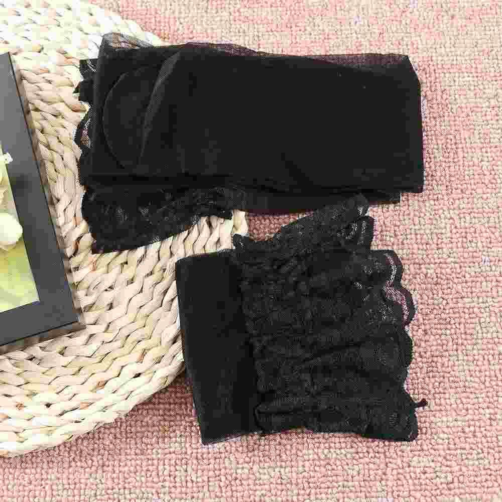 1 Pair New Fashion Sexy Women Stylist Fashion Ladies Lace Top Tights Stay Up Thigh High Stockings Nightclubs Pantyhose