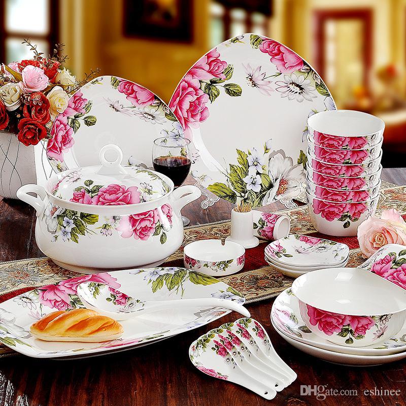 Freeshiping Bone China Porcelain Dinnerware/Porcelain Dinner Sets Dumping The Emperor Dinnerware Sets With Matching Serving Pieces Dinnerware Sets With ... & Freeshiping Bone China Porcelain Dinnerware/Porcelain Dinner Sets ...
