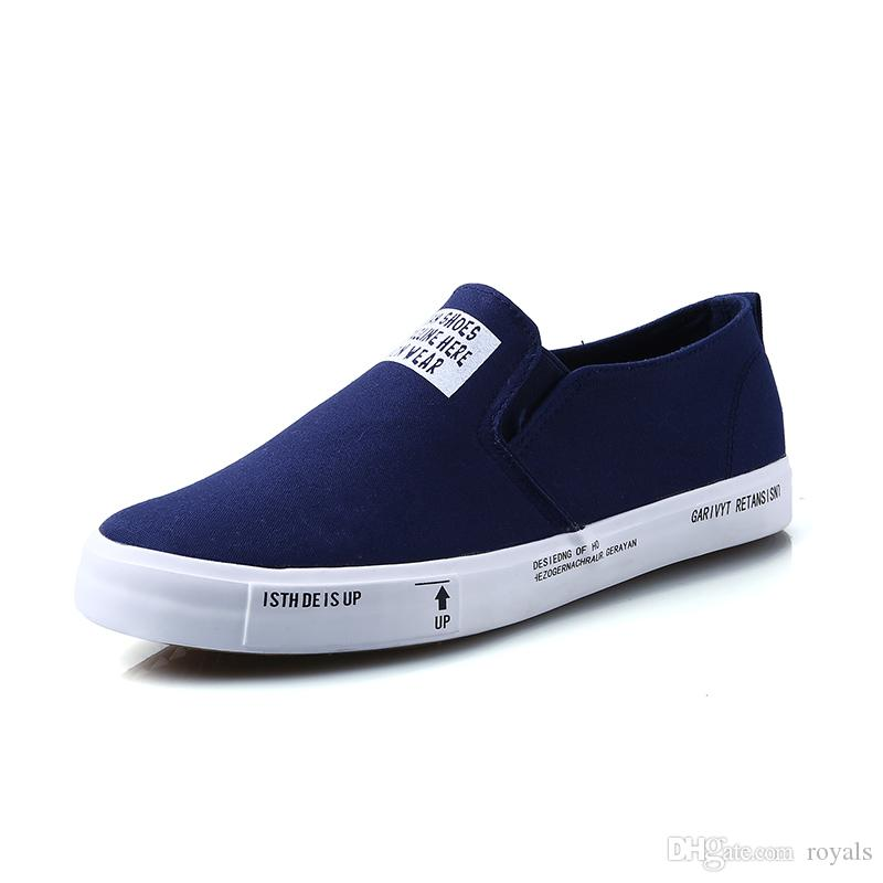 footlocker cheap online clearance Manchester Free Shipping 2017 spring new canvas shoes popular comfortable breathable lazy round Low shoes couple shoes with credit card sale online perfect outlet low price fee shipping s6wtTSgDbC