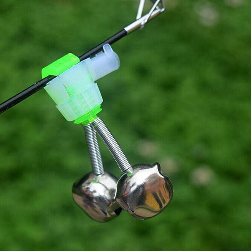 New acessórios de pesca plugue engrenagem alarme sino vara de pesca do mar sino na vara luminosa pequenos sinos em espiral para venda