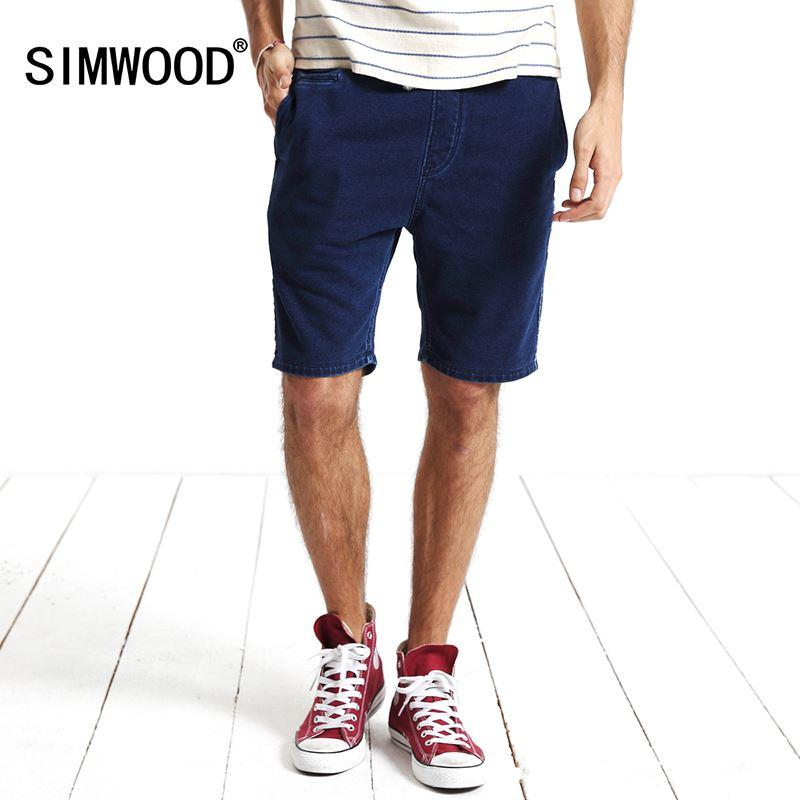 Bright 82 Free Shipping Elastic Denim Shorts Male Summer Thin Knee-length Jeans Casual Plus Size Capris Loose Short Trousers Men's Clothing
