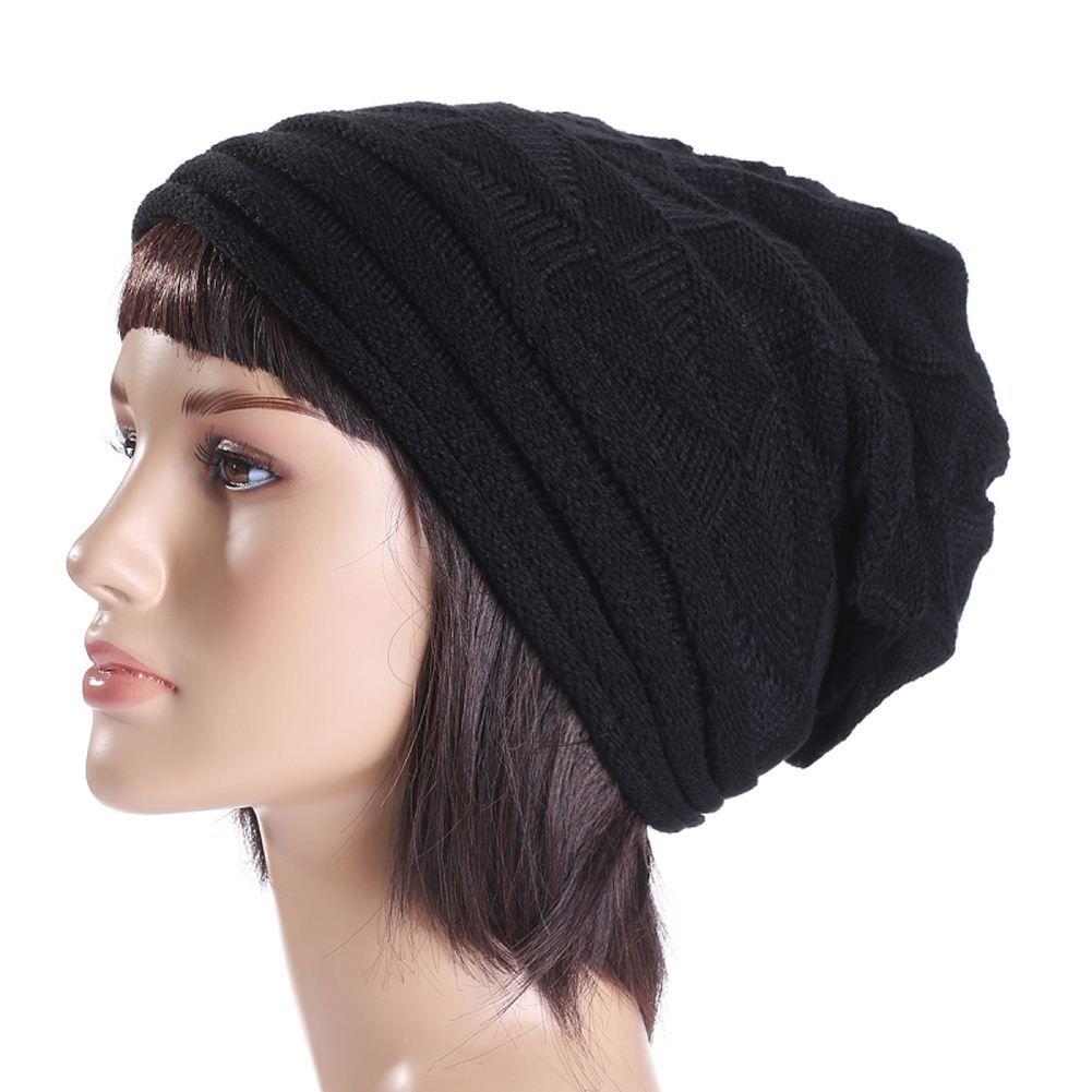 d8a68a7143e Winter Hats for Women Cap Fashion Bonnet Femme Women Winter Hat Female  Winter Beanie Crochet Hat Knit Warm Women Caps DM 6 High Quality Hat Box  Hats China ...