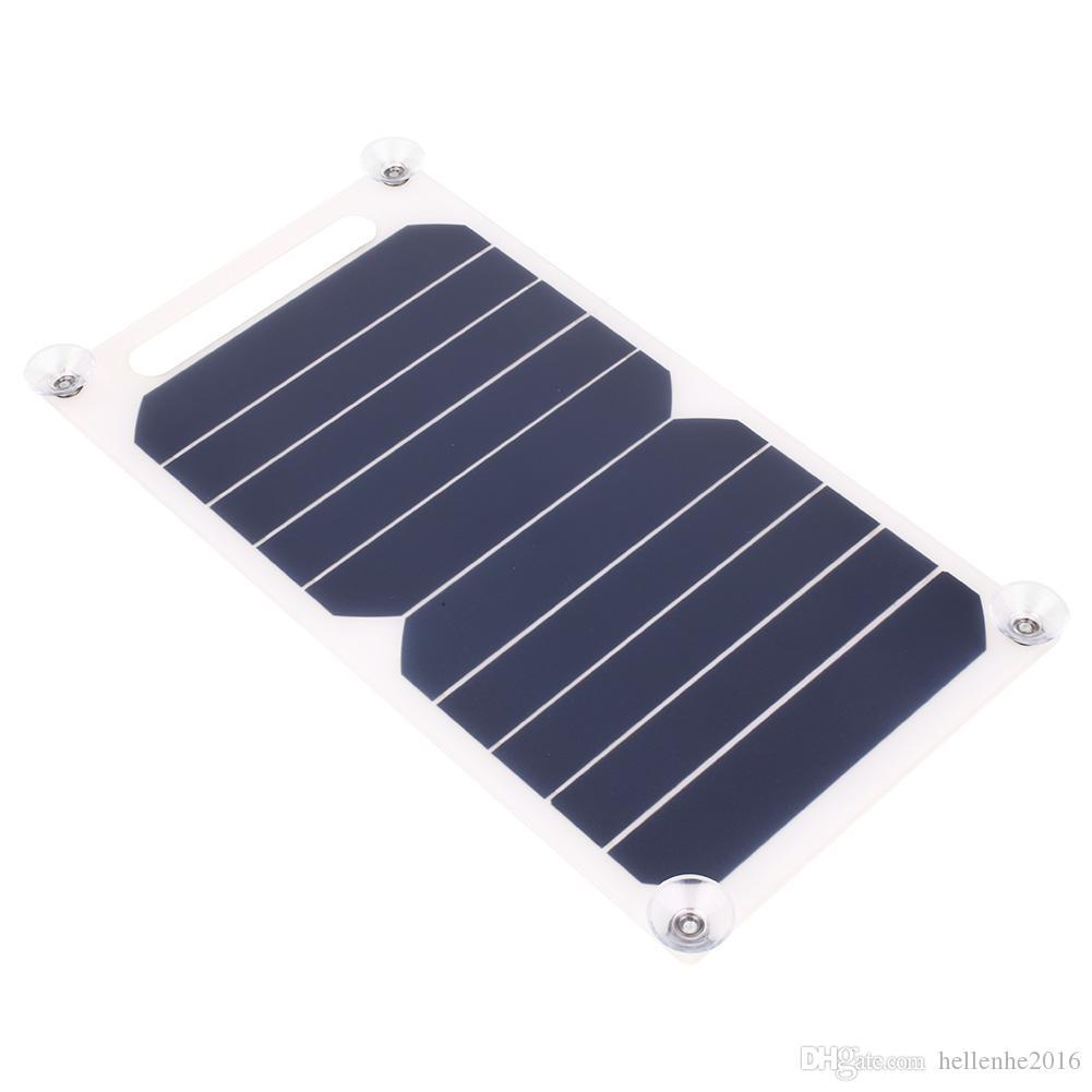 بنك البنك لوحة الانتاج الحالي 1000mAh بطارية الطاقة الشمسية 5V 5W شاحن للطاقة الشمسية شحن شاحن USB لوحة للموبايل الهاتف الذكي سامسونج