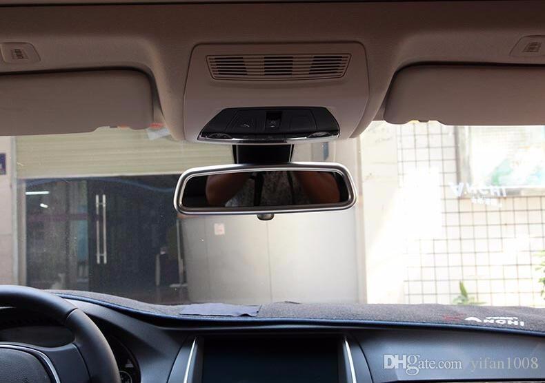 Accessoires De Voiture Pour Volvo XC60 S60 V60 S80 V40 Modifié Intérieur Rétroviseur Cadre Décoratif Couverture Garniture ABS Bande Autocollant