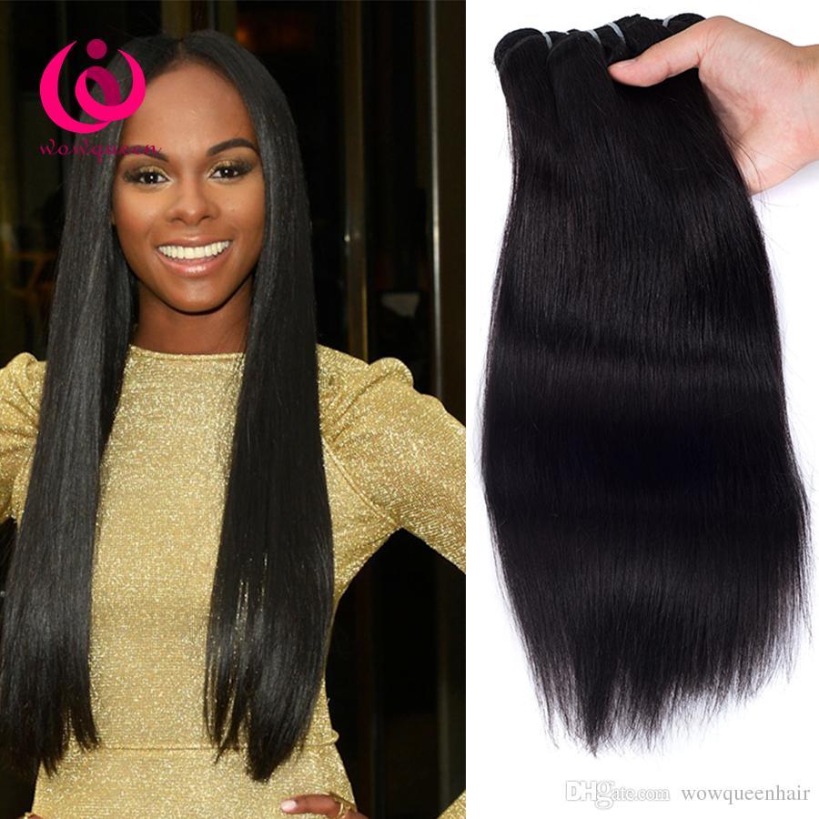 Cheap Price Cambodian Human Weave Hair Straight 4bundles Wow Queen