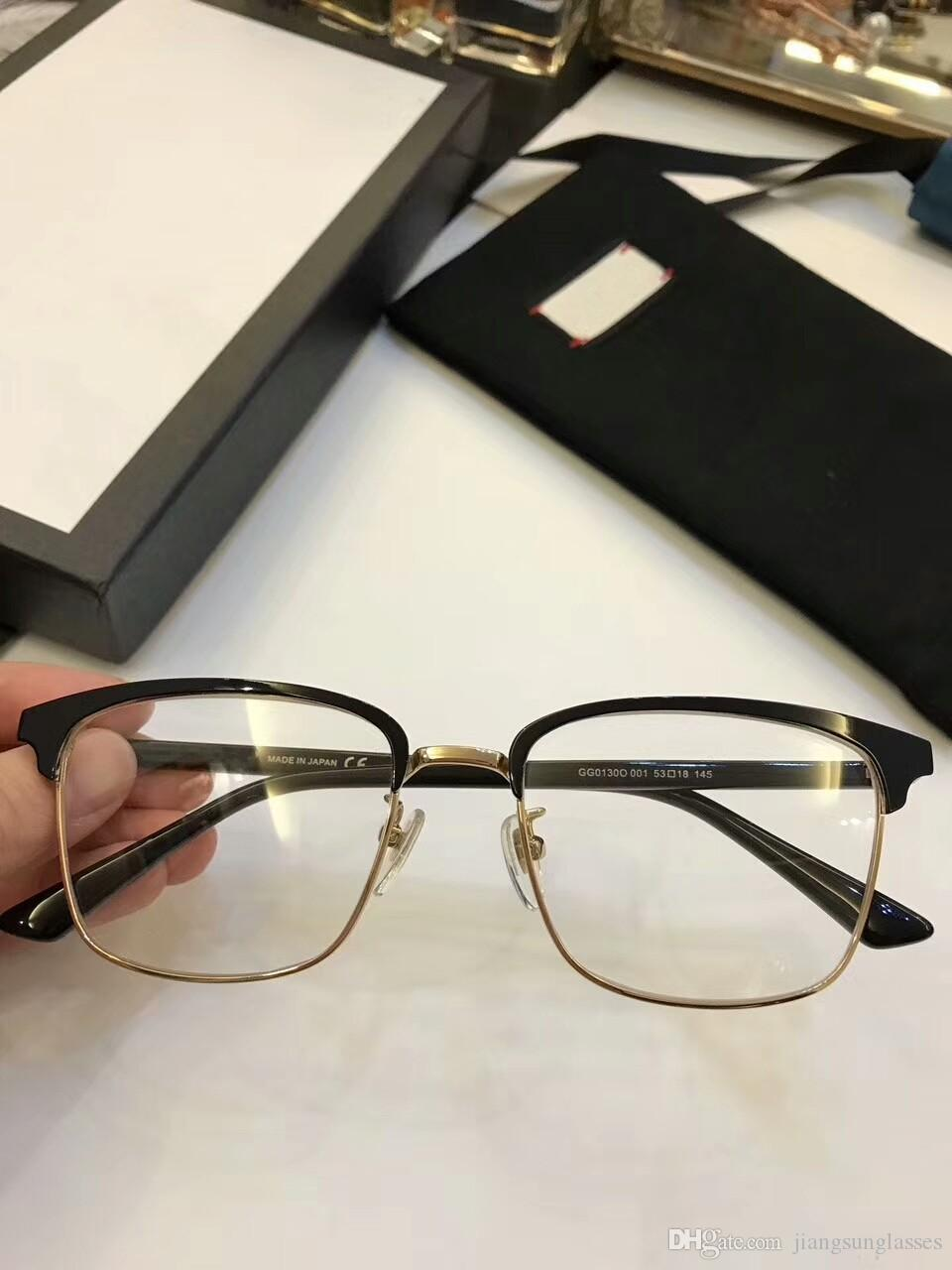 da663c572c 2019 Brand Designer Prescription Glasses G0130 Men Womens Glasses Frame  Clear Lense Women Brand Designer Eyeglasses Frame From Jiangsunglasses