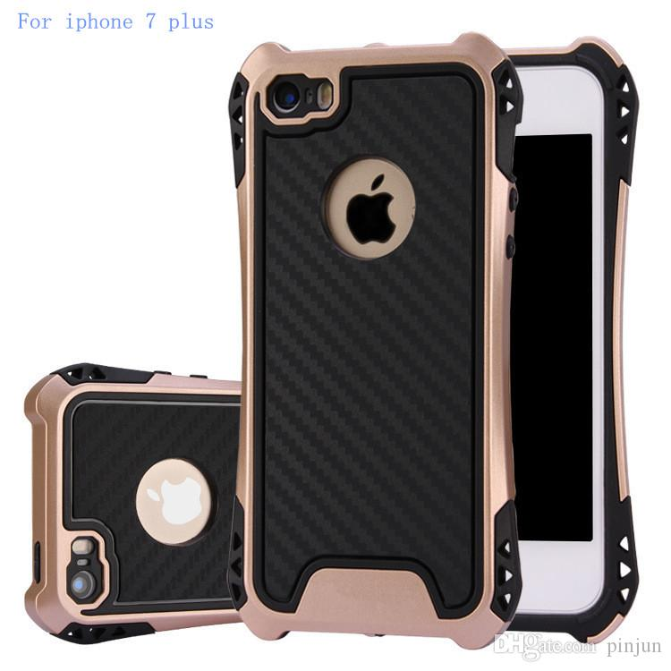 sports shoes 0ff00 26341 Caseology Case For Iphone 7 plus Hybrid Armor Cover For Samsung Galaxy S7  edge J7 Rubber Shockproof Combo Carbon Fiber Case Back Cover